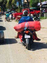 バイク便、ロザリオへ.jpg